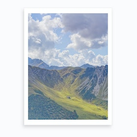 Summer Slope Art Print