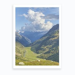 Swiss Valley Art Print