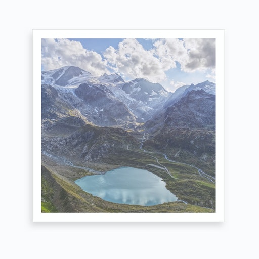 Heart Lake Art Print