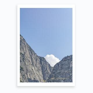 The White Cloud Art Print