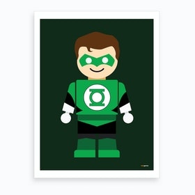 Toy Green Lantern Art Print