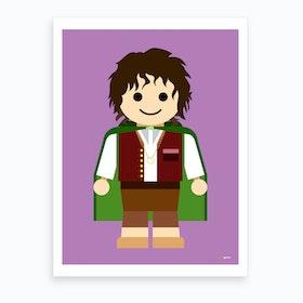 Toy Frodo Hobbit Art Print