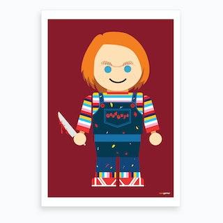 Toy Chucky Art Print