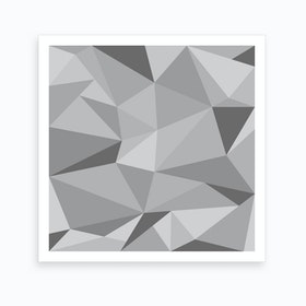 Fifty Shades of Grey - Square Art Print