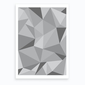 Fifty Shades of Grey Art Print