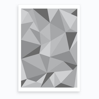 Fifty Shades of Grey Art Print