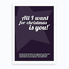 All I Want for Christmas II Art Print