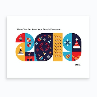 Guess the Year (2019) Art Print
