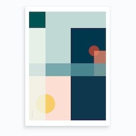 Geo Comp 03 Art Print