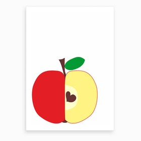 My Own Big Apple Art Print