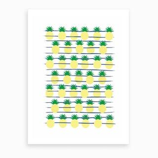 Land of Pineapples Art Print