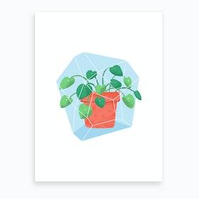 Potted Plant #1 Art Print