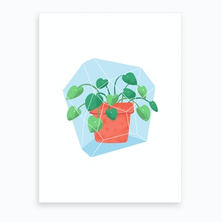Potted Plant #1 Art Print