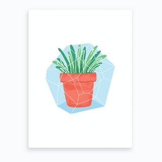 Potted Plant #2 Art Print