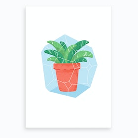 Potted Plant #3 Art Print