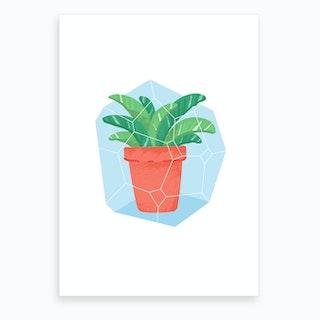 Potted Plant #3 Art Print