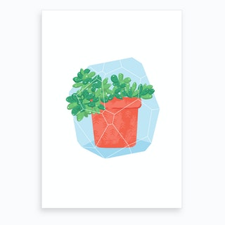 Potted Plant #4 Art Print