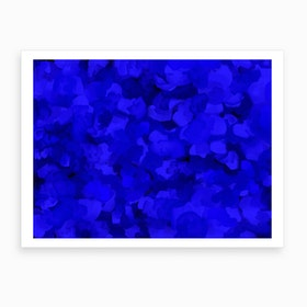 Cobalt Sea Art Print