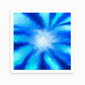 Tropical Seaflower  Art Print
