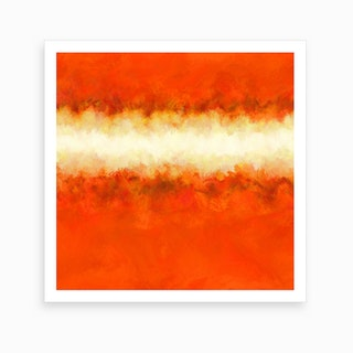 Tangerine Sunshine Art Print