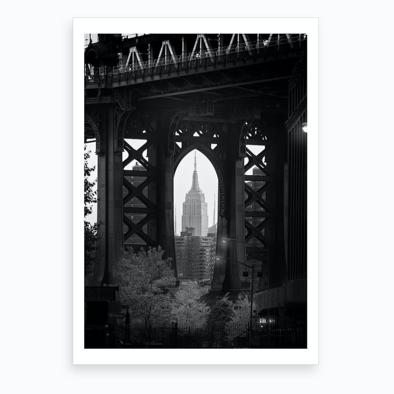 Bridge With a View Art Print