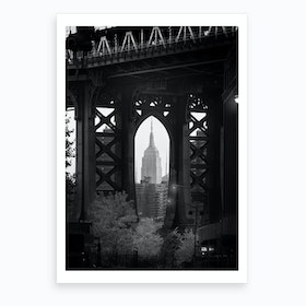 Bridge With a View Art Print