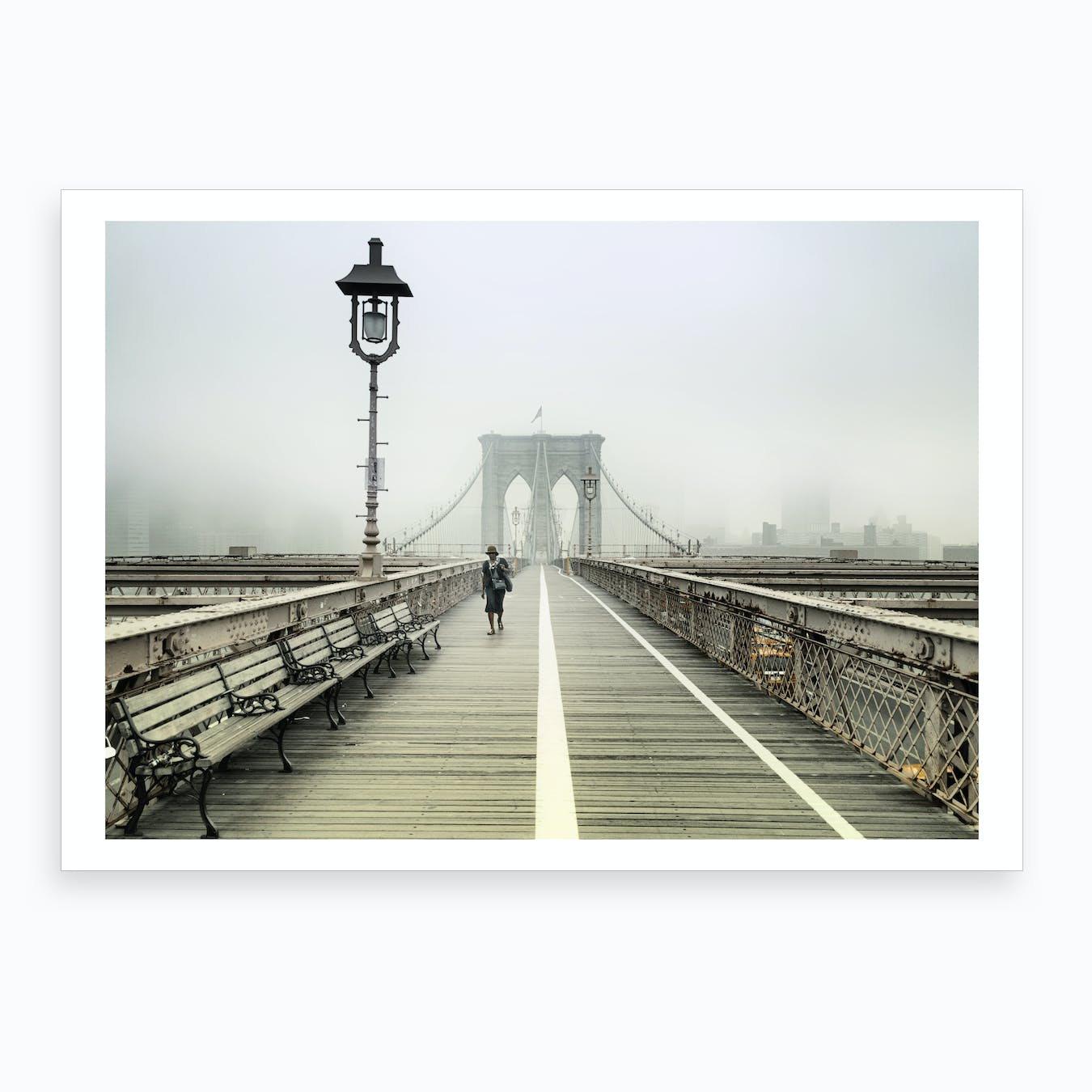 One to Brooklyn Art Print