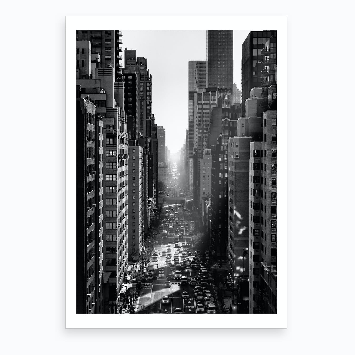 One Way or the Other Art Print