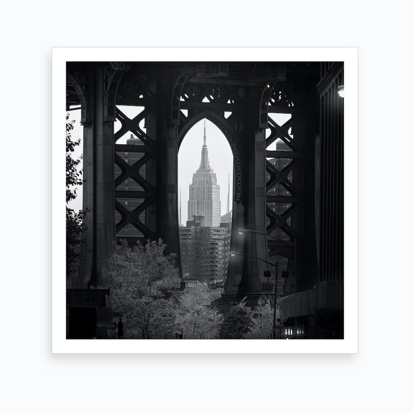 Bridge With a View II Art Print