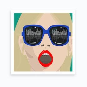 My Eyes on NY Art Print