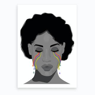 Cry me a Rainbow Art Print