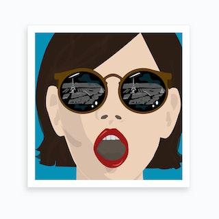 My Eyes on Paris Art Print