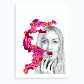 Rose II Art Print