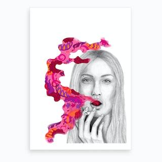 Rose II Art Print