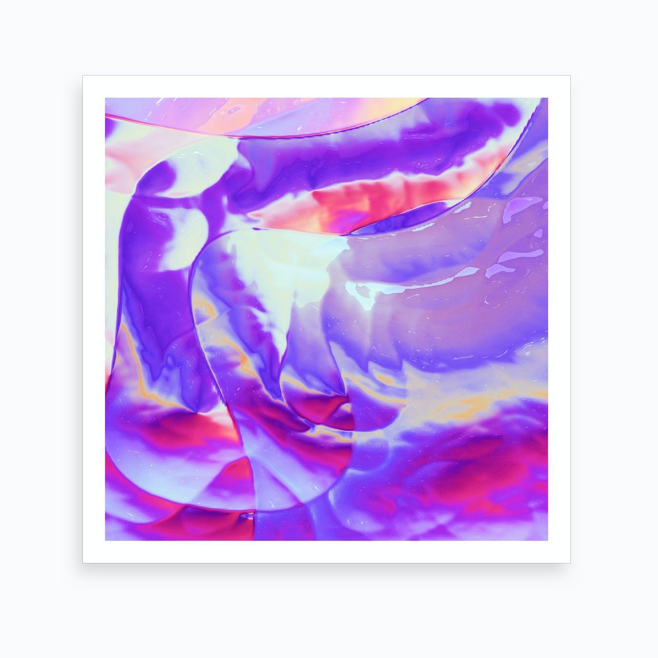 Air Blush Art Print