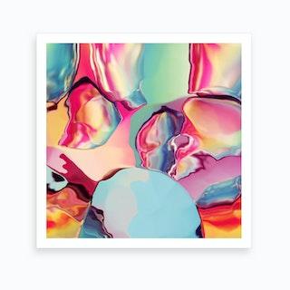Cherry Boom Bubblegum Art Print