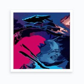 Vibrant Storm Art Print