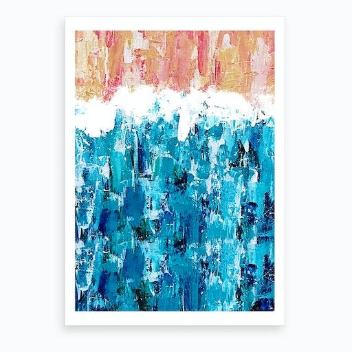 Sand to Sea Art Print