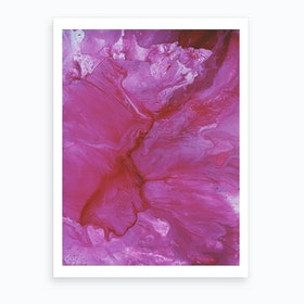 Pink Canyon Art Print