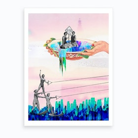 Surf Time Art Print