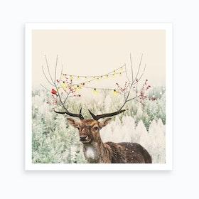 Winter Time Art Print