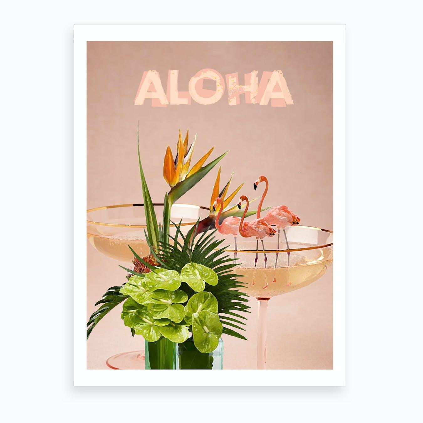 Aloha I Art Print
