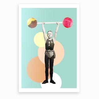 Lift that Lollipop Art Print