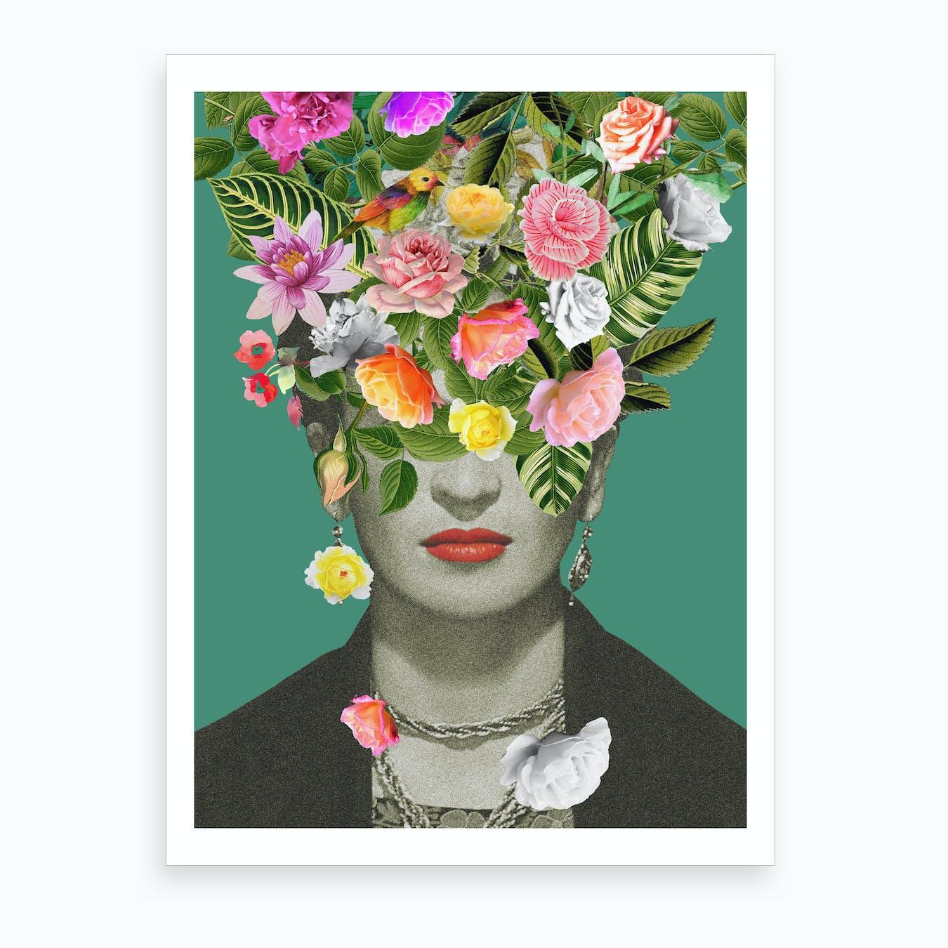 Frida Floral Art Print