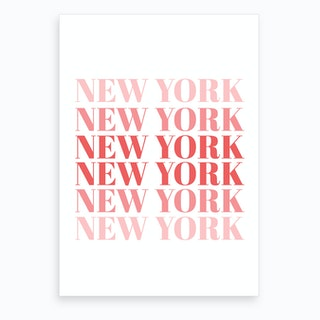 New York X Art Print