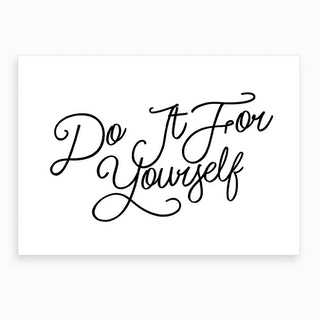 Do it Yourself Art Print