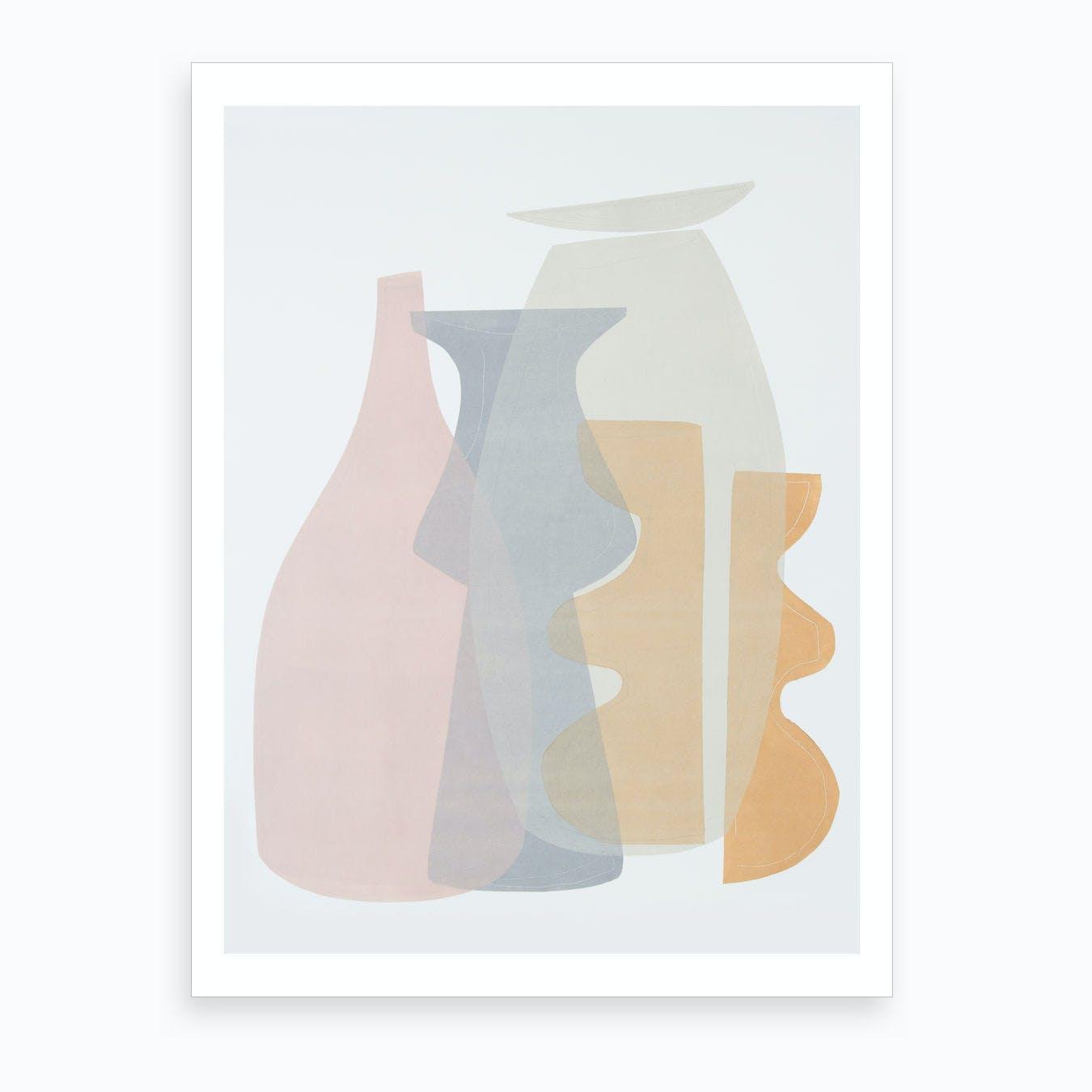 Vessel Collection II Art Print