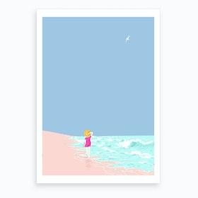 Day Off Art Print