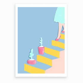 The Girl From Italy Art Print