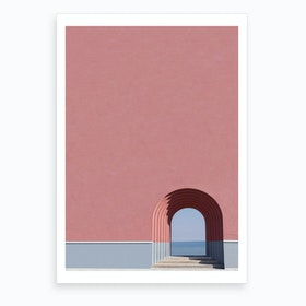 Look The Ocean  Art Print